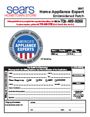 Hometown Store Home Appliance Expert Patch